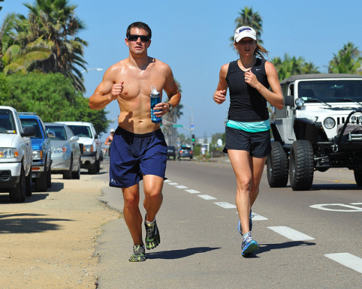 Include running in your weight loss exercise plan for body fat loss fast.