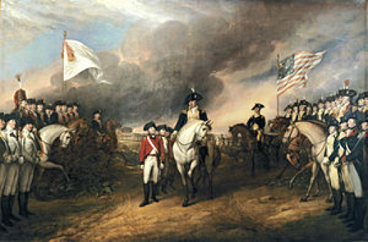 Surrender of Lord Cornwallis at Yorktown