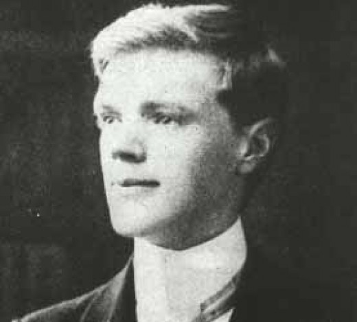 DH Lawrence at 21 years old (September, 1906)