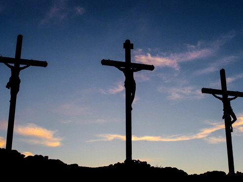 Crucifixion was a common custom of execution in first century Palestine by the Romans.