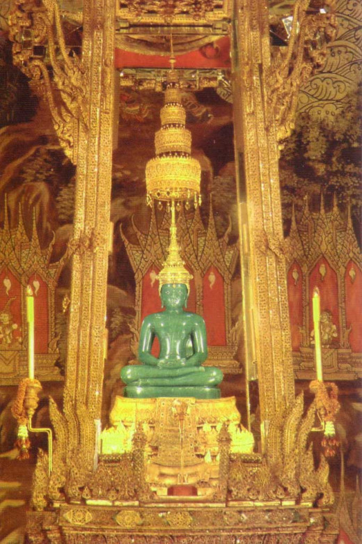 The Emerald Buddha Bangkok Thailand