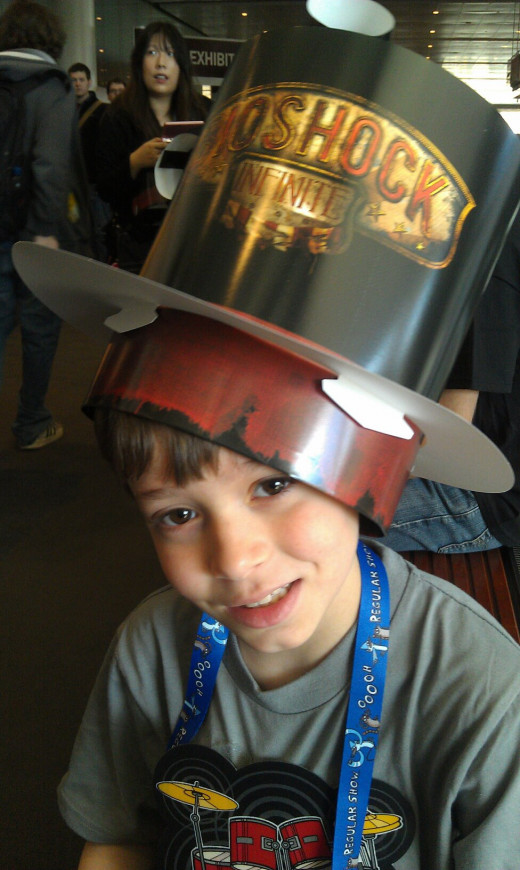 At Pax East, he was more behaved than some adults were.
