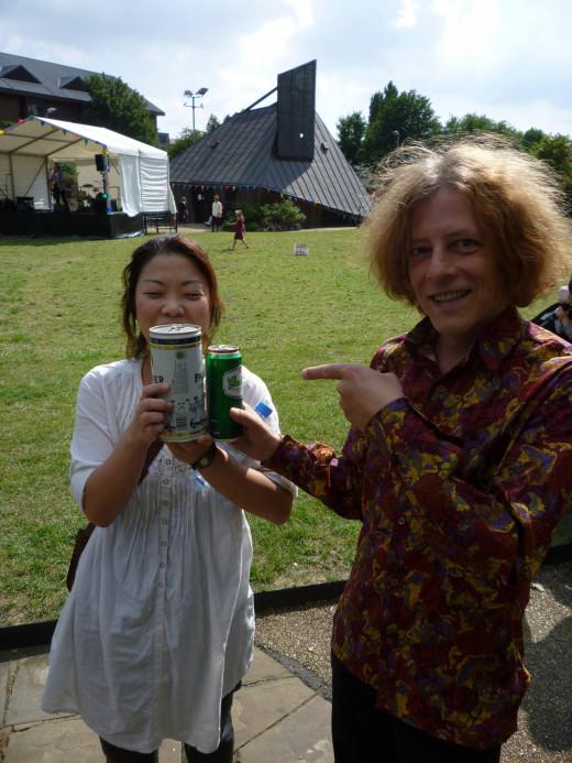 Peter and Tomoko