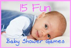 15 Fun Baby Shower Games