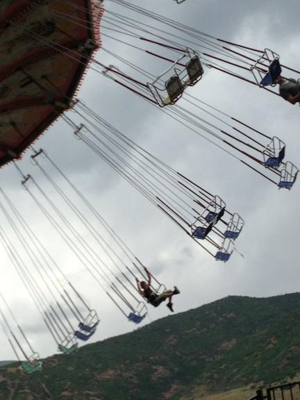 Huge Swing at Lagoon   Personal Photo REK