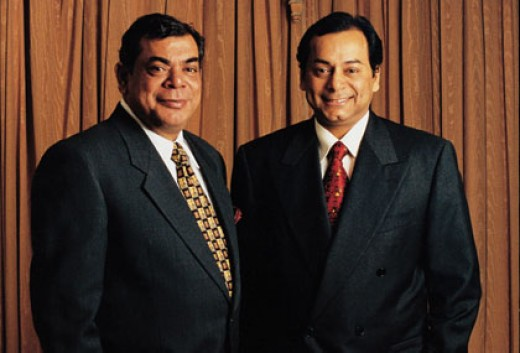 Ruia Brothers (Promoters and owners of ESSAR group)