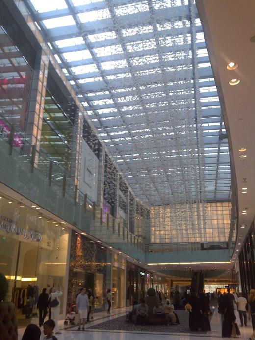 The Fashion Avenue in Dubai Mall