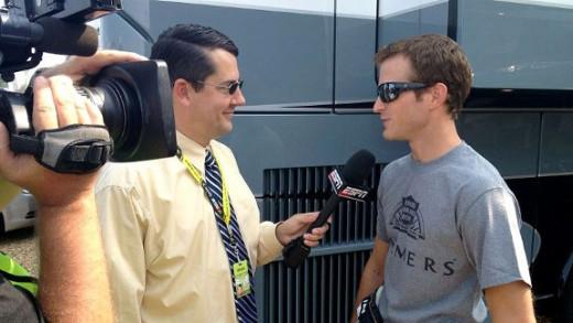 ESPN's Ryan McGee interviews Kasey Kahne