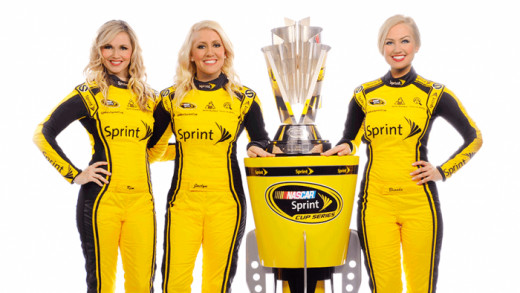 NASCAR's Sprint Cup Girls are an olive branch to fans but the sanctioning body won't permit feedback on their website