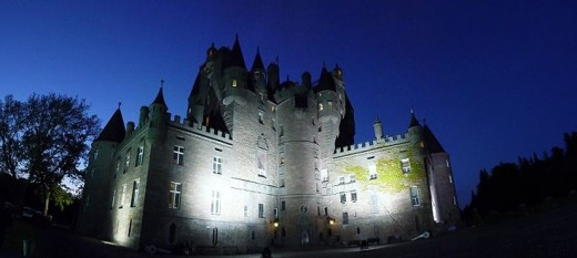 Glamis Castle in Scotland. This beautiful place is not only one of the most haunted in Scotland but also holds a secret that's rumoured to have been caused by a curse.