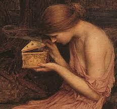 Hephaestus crafted Pandora's Box