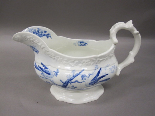 Gravy Boat , originally of Commodore Jarvis and used on the USF Constitution/ USS Constitution.