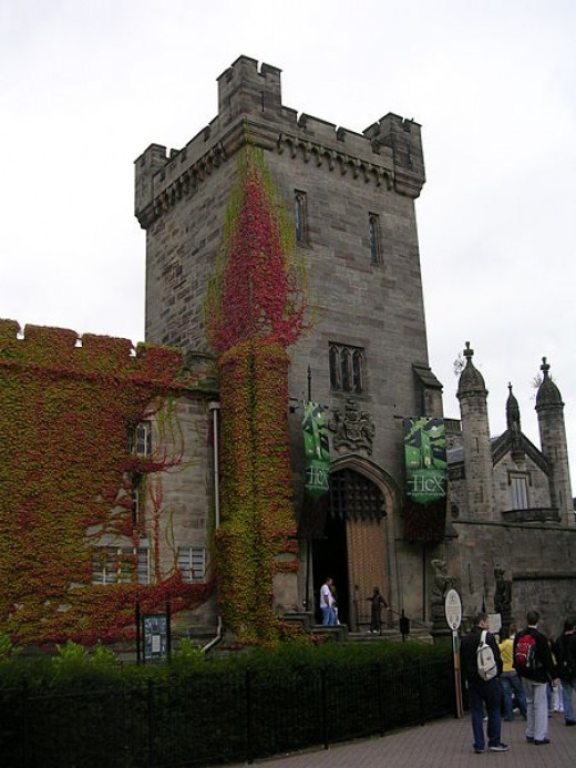 Alton Towers is believed to have had a curse upon it in the past. The very popular 'Hex' ride was produced to recreate the old curse.
