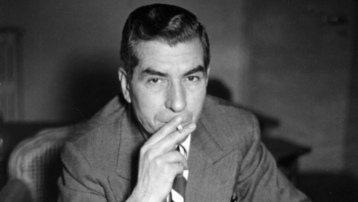 """Charles """"Lucky"""" Luciano (1897-1962). He formed  The Commission in 1931."""