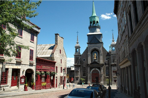 Montreal le Vieux Port