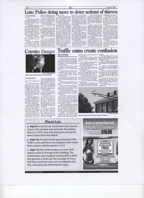 Page from Southern News mentioned in above paragraph