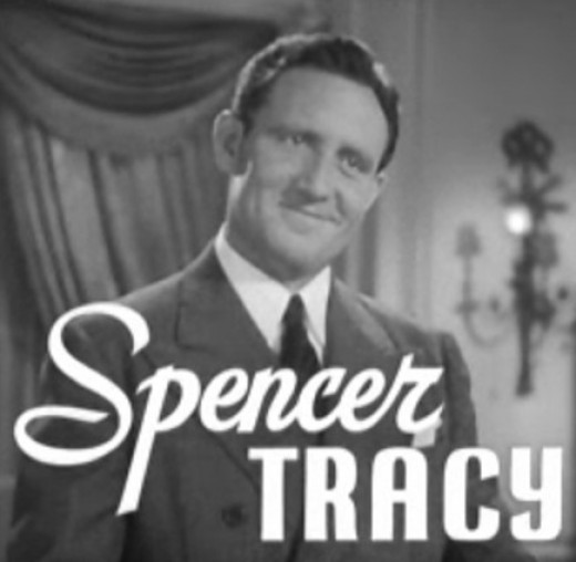 Spencer Tracy in a screenshot from the trailer for the 1936 film Libeled Lady
