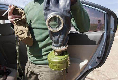 Gas Mask from Lee Harper flickr.com