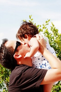 Bring out the old photographs to re-live the beautiful memories of your first child when he or she was a cute toddler.