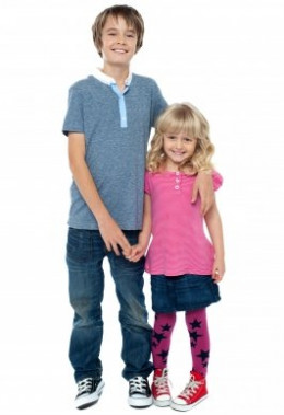 Siblings can form a healthy support system.