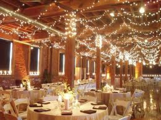 Fairy lights look fantastic and ensure that your wedding day will sparkle.