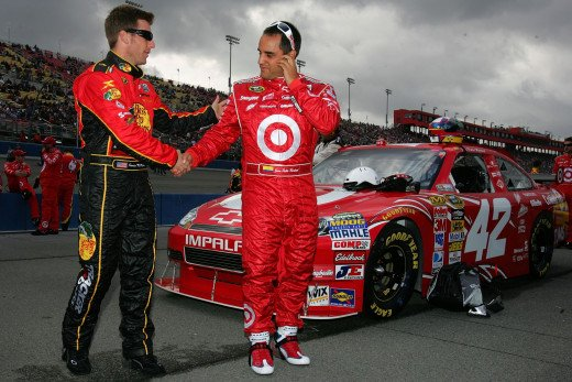 McMurray (left) and Montoya will be teammates until the season ends