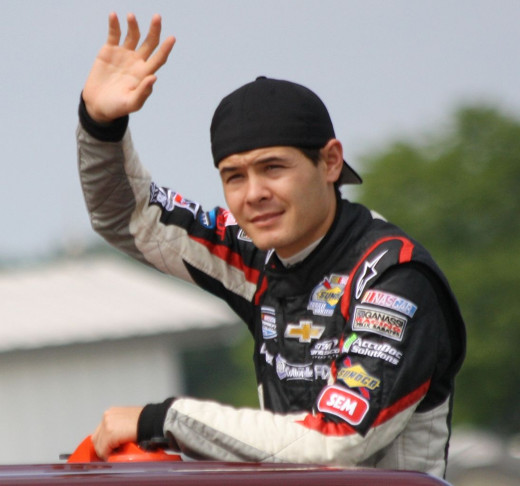 Kyle Larson will take over Montoya's #42 next season