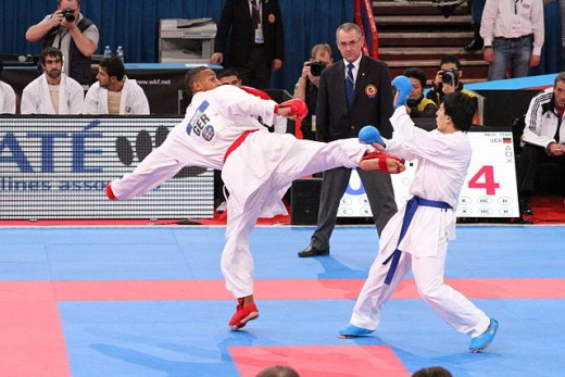2012 WKF World Championship Karate in Paris, France