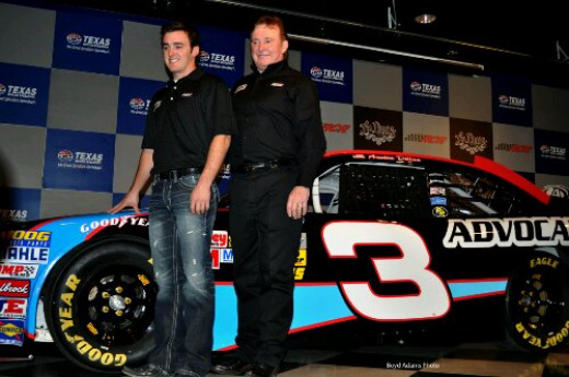Austin Dillon will likely run the #3 on the Sprint Cup level next year for his grandfather, Richard Childress