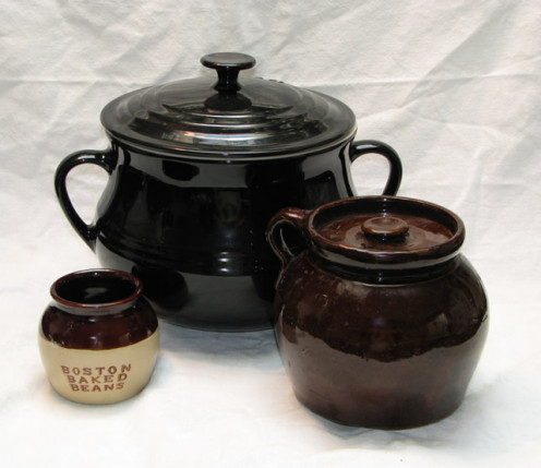 Bean Pots for Making Baked Beans