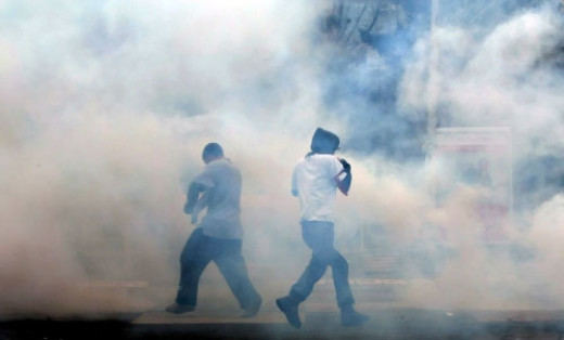 Civil unrest around the world is resulting in a substantial new addition into the atmosphere; tear gas! Traces can travel great distances. Wonder why your eyes are stinging a lot these days?