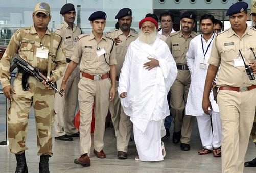 The guru arrested for sexual assault