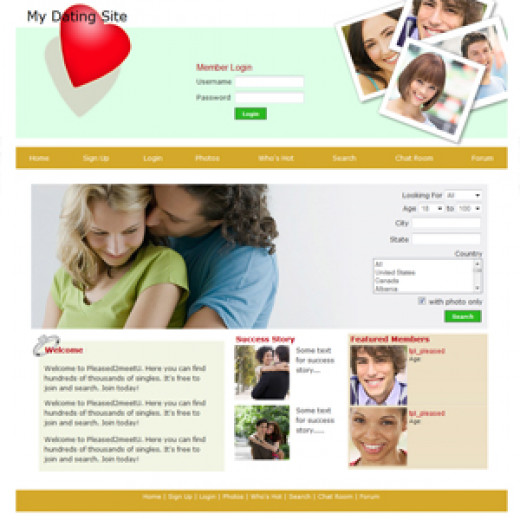 Online dating verification id