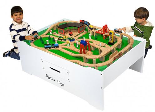 thomas wooden train sets for kids. Black Bedroom Furniture Sets. Home Design Ideas
