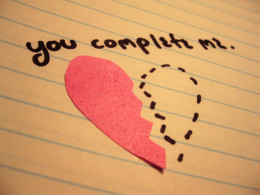 """You Complete Me"" Love"