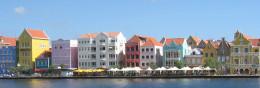 Punda in Willemstad,Curaçao
