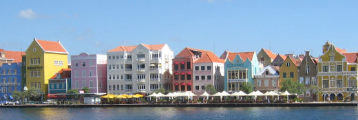 Punda in Willemstad,Curacao