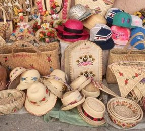 Bring a sun hat! But you can buy them, too.  Handmade in Nassau, Bahamas.