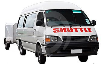 Travel packages usually include transportation to the hotel.  Verify the shuttle service before boarding.
