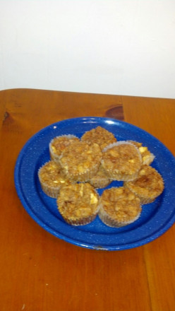 Easy Apple Bread Pudding