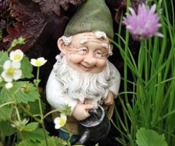 Gnome Hunting is Outdoor Fun