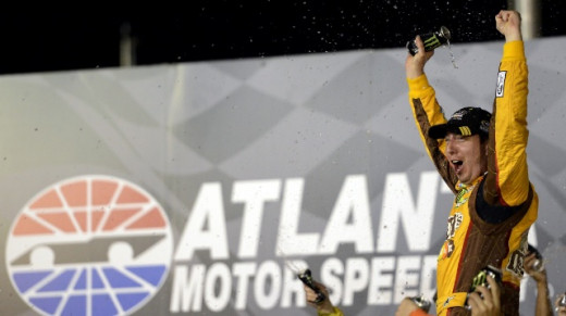 Kyle Busch won his fourth race of the season last week and he may well do so again in Richmond
