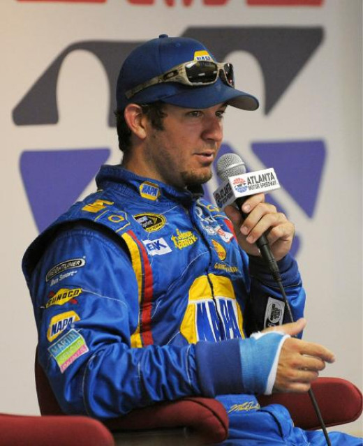 Martin Truex Jr. will once again compete with a cast on his right wrist- and at a track he's struggled at in the past