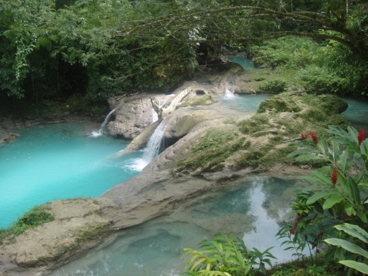 Blue Hole in Ocho Rios