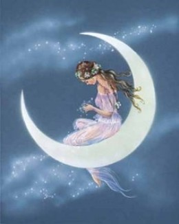The Moon symbolizes our emotions