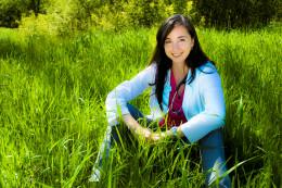 Future naturopathic physician Erica Robinson