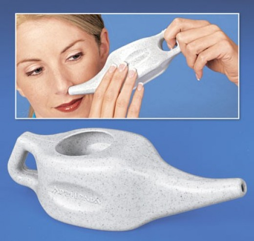 Stop nasal congestion fast for easy breathing all day, all night! 100% all-natural Neti Pot nasal cleaner unblocks clogged sinuses caused by colds, flu, allergy and chronic sinusitis. Centuries-old Indian treatment uses salt and warm water inside the