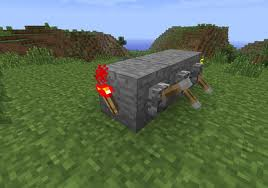 Redstone torches can be used to detonate TNT blocks, and redstone dust is crucial in making levers and repeaters functional.