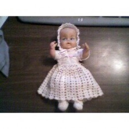My daughter's first doll from 1973. She looks just like the first doll I had.