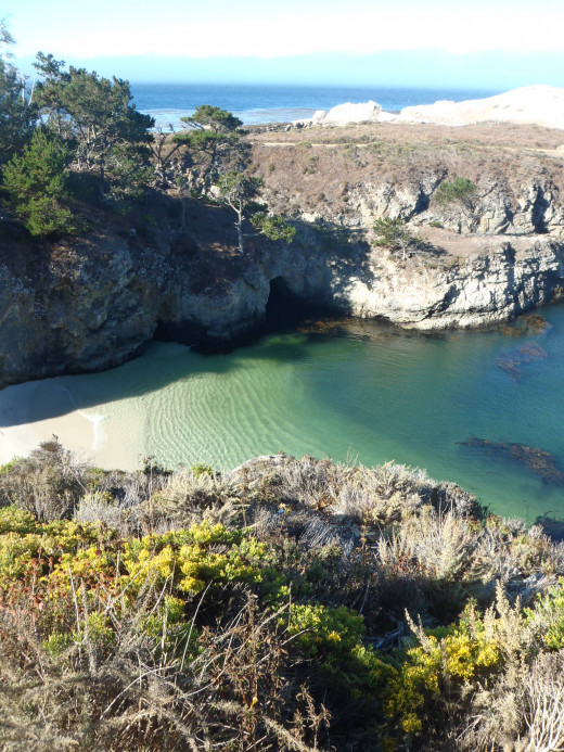 China Cove in the not-to-miss Point Lobos State Reserve.